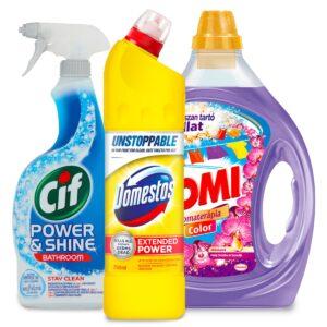 Tisztítószerek és háztartási cikkek
